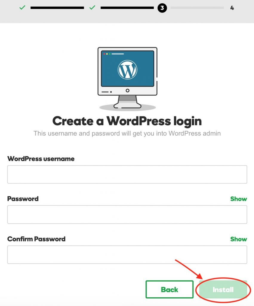 create-a-wordpress-login
